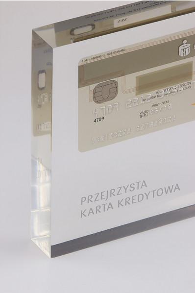 PKO-kaart in acryl