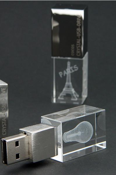 Glazen USB Flash Drive