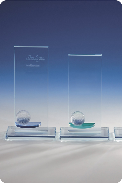 Trofeeën met Glazen Bollen
