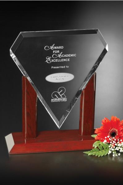 Glazen Trofee - Diamant