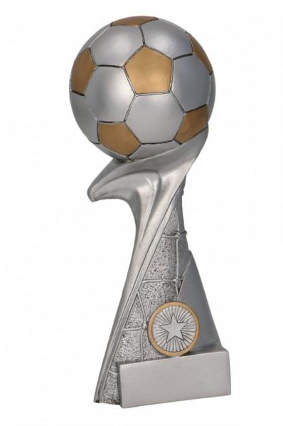 Voetbal op een Sokkel